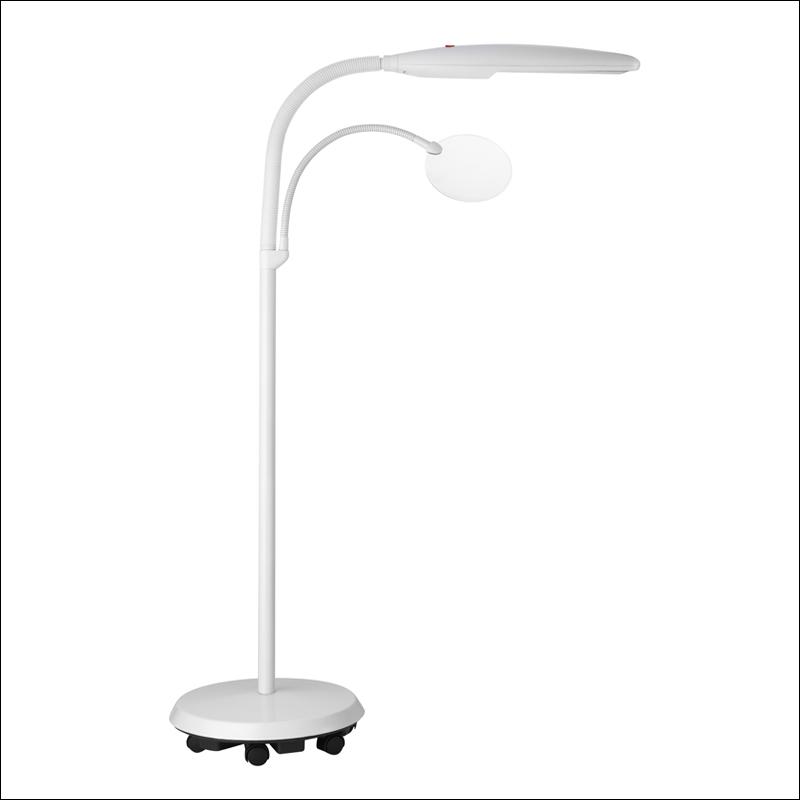 Lampe de travail sur pied daylight dl e23030 sur broderies for Lampe sur pied chambre bebe