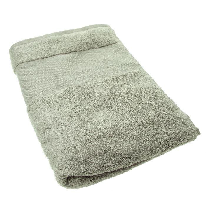 drap de bain broder gris dmc broderies cie. Black Bedroom Furniture Sets. Home Design Ideas