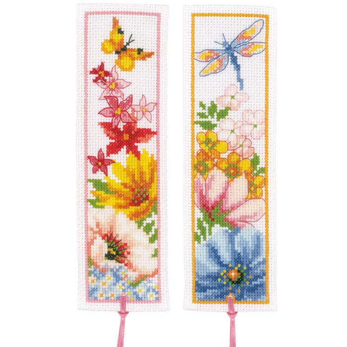 Fleur Rose Aiguille Livre Fête Mères Cadeau Cross Stitch Kit