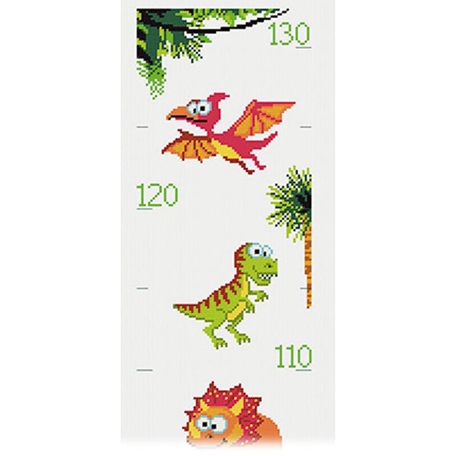 Toise à broder - Dinosaures - Princesse PR.7756 ...