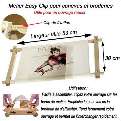 m tier easy clip milpoint mp tm039 sur broderies et compagnie. Black Bedroom Furniture Sets. Home Design Ideas
